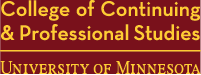 College of Continuing and Professional Studies - University of Minnesota